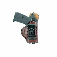 WALTHER PK380 INSIDE THE WAISTBAND LEATHER HOLSTER. IWB CONCEAL CARRY.
