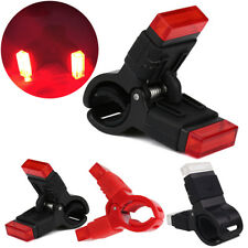 MTB Bike Bicycle Safety Cycling LED USB Rechargeable Clip Rear Tail Light Lamp