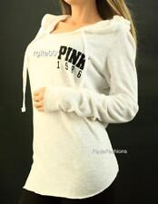 Victoria's Secret PINK Perfect Pullover Hoodie Tunic Knit Sweater Sweatshirt