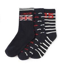 La Redoute Collections Boys Pack Of 3 London Themed Patterned Socks