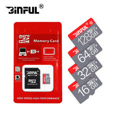New Micro SD Card 64GB TF Card SDXC Class 10 High Speed With Adapter