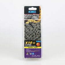 KMC X10.93 10-Speed 116L Stretch-Proof Bike Chain fits SRAM Campagnolo & Shimano