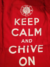 the Chive *Authentic* Firefighter KCCO T-Shirt * Red or Navy * M XL XXL BFM KCCO