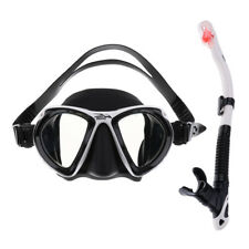 Dry Snorkel Set Combo Mask Adult Diving Scuba Dive Diver Snorkeling Swimming