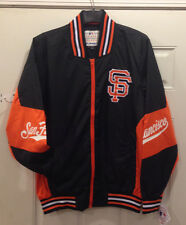 San Francisco Giants Track Jacket - RIPSTOP NYLON COLOR-BLOCKED JACKET by JH