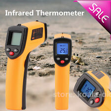 Digital Anti-Contact Infrared IR Thermometer Temperature Laser Gun -50℃--330℃ BP