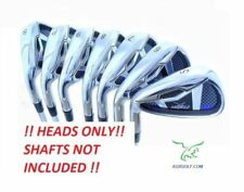 AGXGOLF MAGNUM XS IRON HEADS ONLY: 5-SW STAINLESS STEEL .370 HOSEL