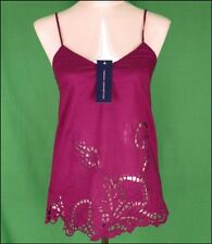Bnwt Women's French Connection Strappy Top Blouse New Fcuk Purple