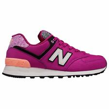 New Balance 574 Art School Poisonberry Womens Mesh Low-top Sneakers Trainers