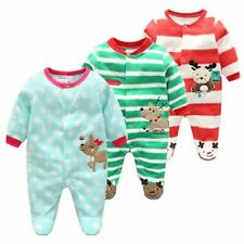 Cotton Baby Rompers Christmas Baby Boy Clothes Newborn Clothing Spring Baby Girl