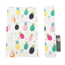 Pushchair Strap Covers Handmade 4 Bugaboo Quinny iCandy buggy Pram in Pineapples