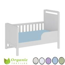 100% Organic Cotton Baby Crib Fitted Sheet - All size