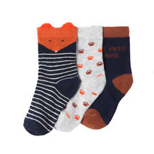La Redoute Collections Boys Pack Of 3 Patterned Socks, 1 Month-3 Years