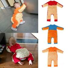 Newborn Baby Boys Girls Clothes Long Sleeve Romper Crawling Clothing One-piece