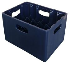24 Compartment 330ml Lager Bottle Plastic Stacking Beer Milk Glass Bottle Crate