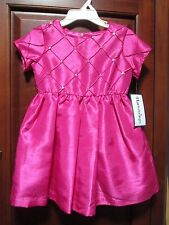 NWT Hartstrings GIRLS PINK DRESS Party Toddler Orig $74 Gorgeous