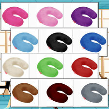 BookishBunny Memory Foam U Shape Travel Neck Pillow Airplane Car Cushion