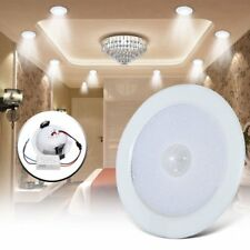 5/7W LED Panel Light PIR Motion Sensor Downlight Super Bright Round Ceiling XU