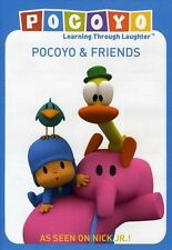Pocoyo:pocoyo and Friends - DVD**. Blue And Purple Bonus Puzzle New and Fac Seal