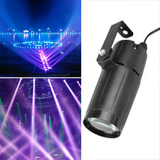 3W LED Beam Stage Light Effect White Lighting Dance DJ Disco Club Party Lamp Pro