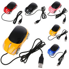 1000DPI 3D Optical Mini Car Shape USB Wired Gaming Mouse Laptop Computer Mice P1