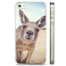 Kangaroo Funny Photograph Wild CLEAR PHONE CASE COVER fits iPHONE 5 6 7 8 X