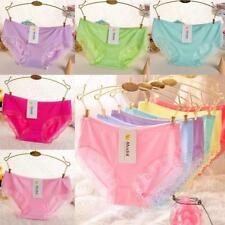 Fashion Women Sexy Modal Cotton High Elasticity Lace Soft Comfortable Panties FT
