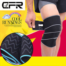 Knee Support Wraps Weightlifting Ankle Brace Compression Bandage Sleeve Elastic