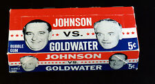 Johnson VS Goldwater Topps 1964 Display Box 5x7 color photo