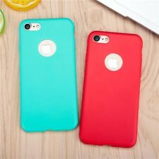Phone Cases For iPhone 7 7 Plus Case Cute Candy Color Ultra Thin Soft Silicone T