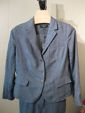 WOMANS DELAVE LINEN GRACE FIT BLAZER TALBOTS PLUS 14W 24W PETITE PLUS 16WP $169