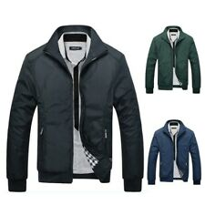 Men Autumn Winter Warm Slim Jackets Tops Coat Men's Casual Outwear Cool Jackets