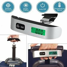 50kg/10g Portable Travel LCD Digital Hanging Luggage Scale Electronic Weight BK