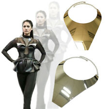 Collar  Bib Necklace Chunky Style Big Statement Necklace in Gold or Silver