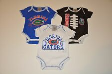 NWOT Florida Gators Boys Infant Toddler Bodysuit/Creeper Baby Romper T-Shirt