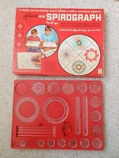 Vintage 1967 KENNER SPIROGRAPH #401, plus instructions booklet, and baseboard