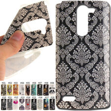 Gel Cover Rubber TPU Silicone Protective Soft Case Back Skin For LG Smartphone