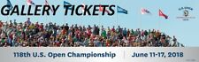 2018 US Open Championship Golf Tickets - 2 Tuesday Practice Round Gallery Passes