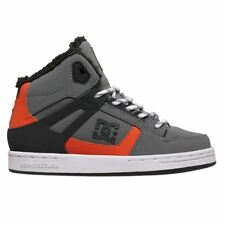 DC Shoes Rebound WNT Grey Black Youths Trainers