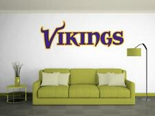 MINNESOTA VIKINGS Wall Decal ~ Removable Vinyl STICKER - Customize