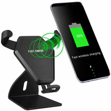 Qi Wireless Fast Charging Car Charger Mount Holder For Samsung Galaxy S9 S9Plus