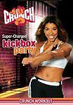 CRUNCH WORKOUT SUPER CHARGED KICKBOX PARTY DVD NEW JEANETTE JENKINS EXERCISE
