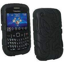 Protective Silicone Skin Fit Case Back Cover for BlackBerry Curve 3G 9330 9300
