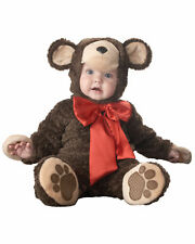 Lil' Teddy Bear Animal Deluxe Toddler Baby Boys Girls Infant Costume