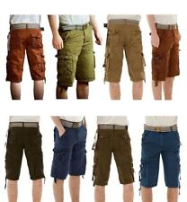 New Mens Chinos Cargo Combat Long Summer Cotton Pants Bottom Bermuda Shorts