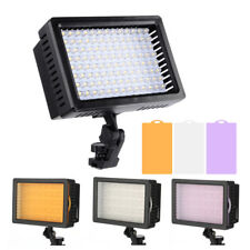 160/ 126 LED Video Light Camcorder Light Lamp For Canon Nikon Pentax DSLR Camera