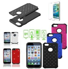 Bling diamond Starry Rubber PC + Silicone Hybrid Case cover for iphone Models