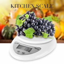 5kg/1g Digital Kitchen Food Scale Weight Balance Electronic Diet Postal Gram FAA