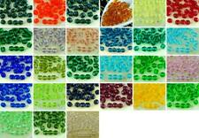 40pcs Crystal Round Faceted Fire Polished Czech Glass Beads 6mm