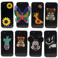 Cute Cartoon 3D Case Ultra Thin Soft TPU Cover For Samsung E5 E7 ON5 ON7 Note2